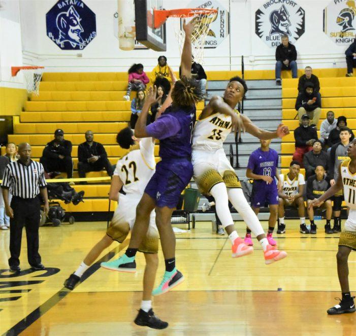 Council scores 18; Athena's all-around game takes down Odyssey