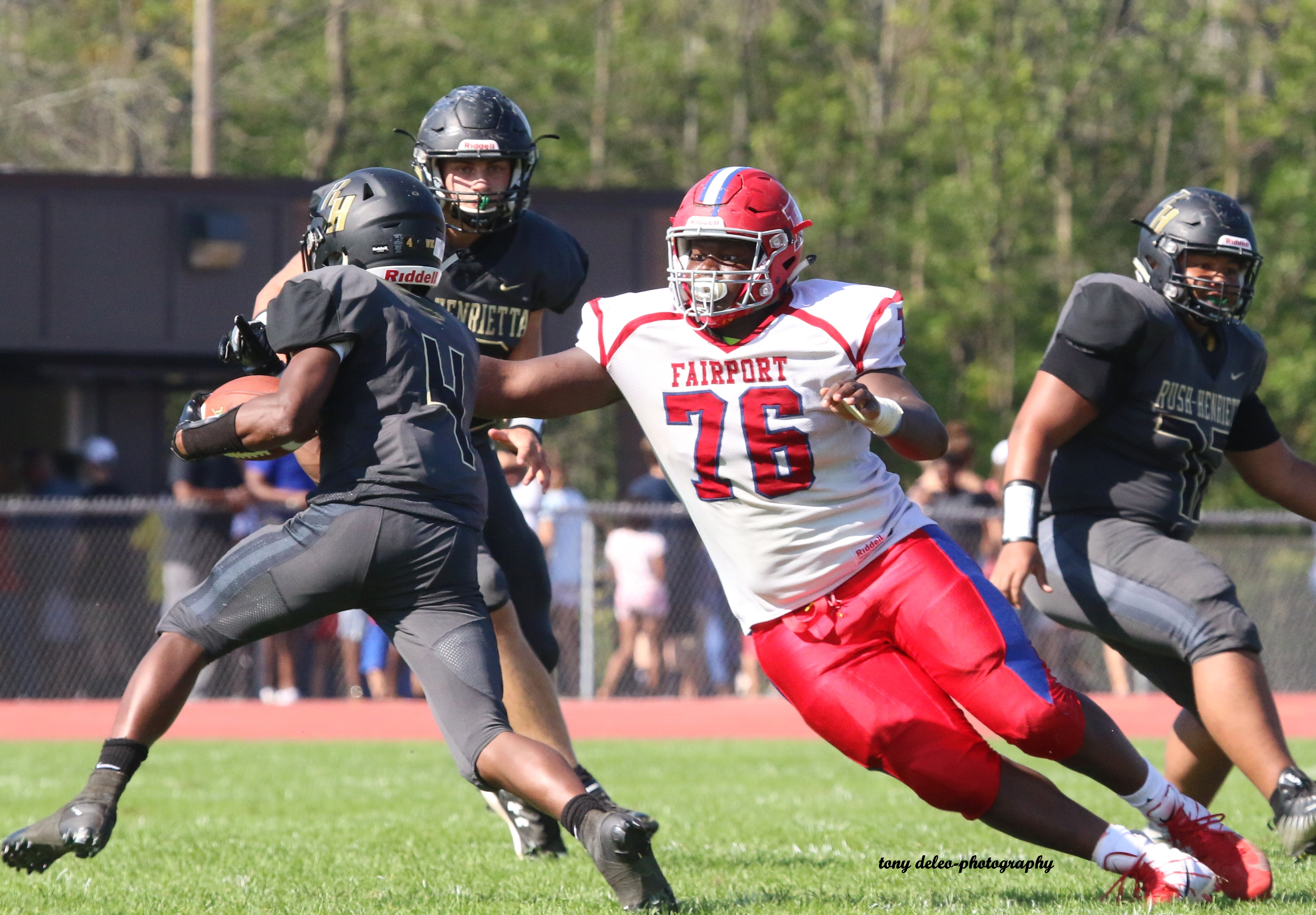 Monroe County Division I Football: Kessington shines on defense