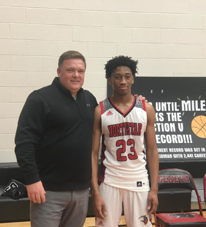 A bucket-by-bucket breakdown of Miles Brown's record-setting night