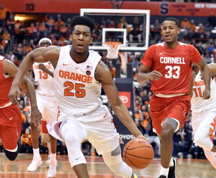 SU's Battle named ACC Player of the Week