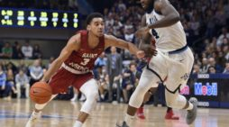 Saint Joseph's falls to No. 21 Villanova, 70-58