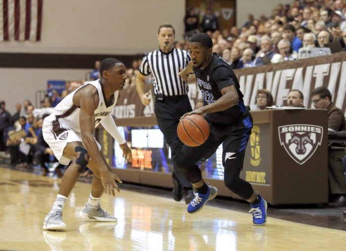 Bonnies falter in first, become UB's latest victim