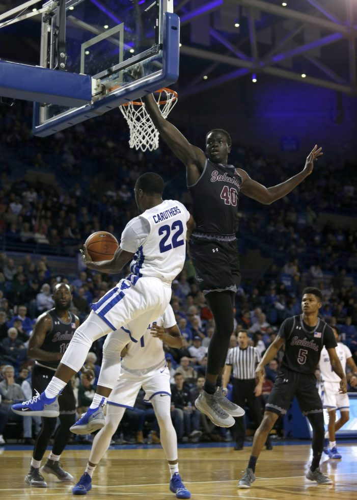 UB improves to 10-0 with win over Southern Illinois