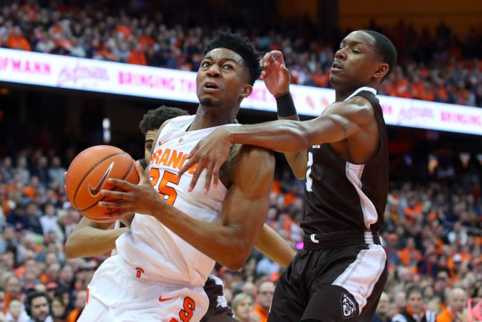 Battle, turnovers sink Bonnies against Orange
