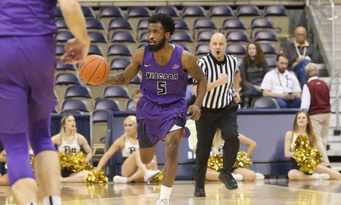 Niagara's Towns named MAAC Player of the Week