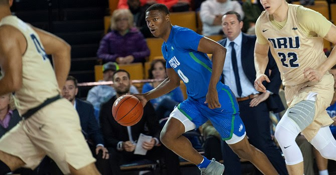 FGCU snaps skid with 20-point road win at Oral Roberts