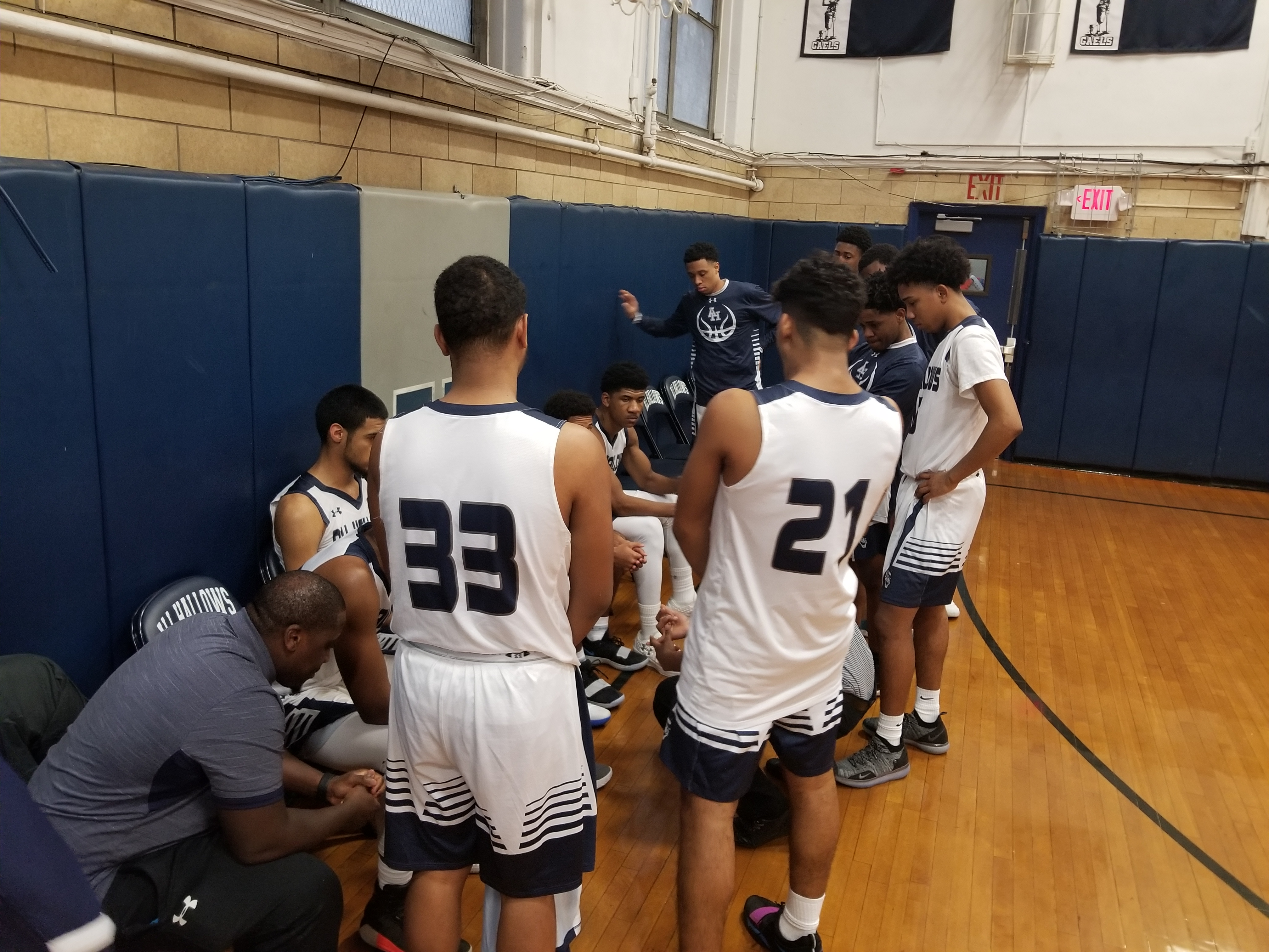 All Hallows holds off late charge from Saint Edmund Prep