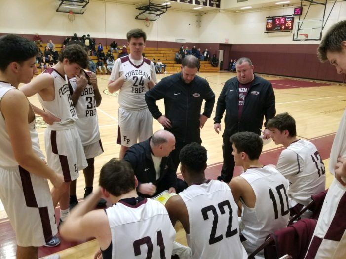 Fordham Prep comes alive in second half to take down All Hallows