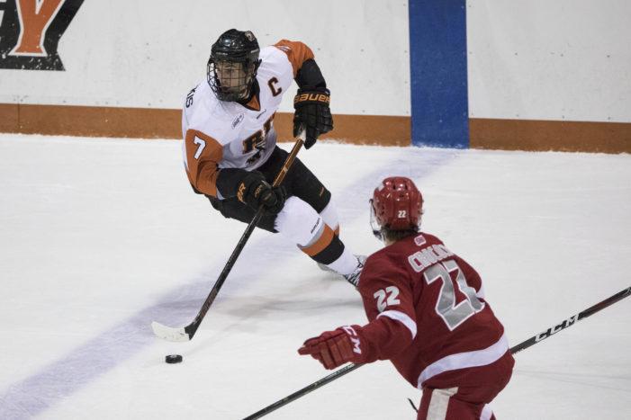 RIT's Abbott Girduckis named Atlantic Hockey Player of the Week