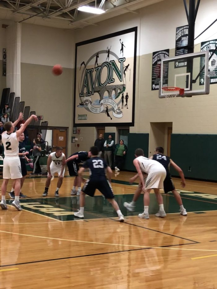 Connor Taylor's triple-double leads Avon over Mynderse