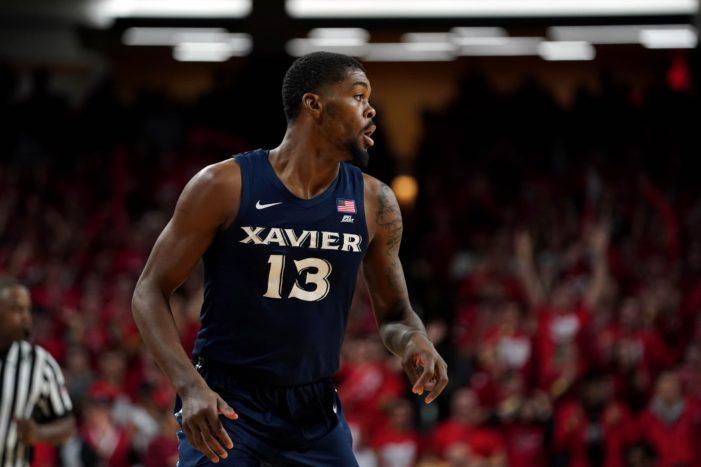 Xavier's Naji Marshall garners Big East Player of the Week