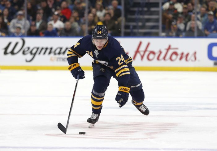 Pilut staying with Sabres, will miss AHL All-Star Classic