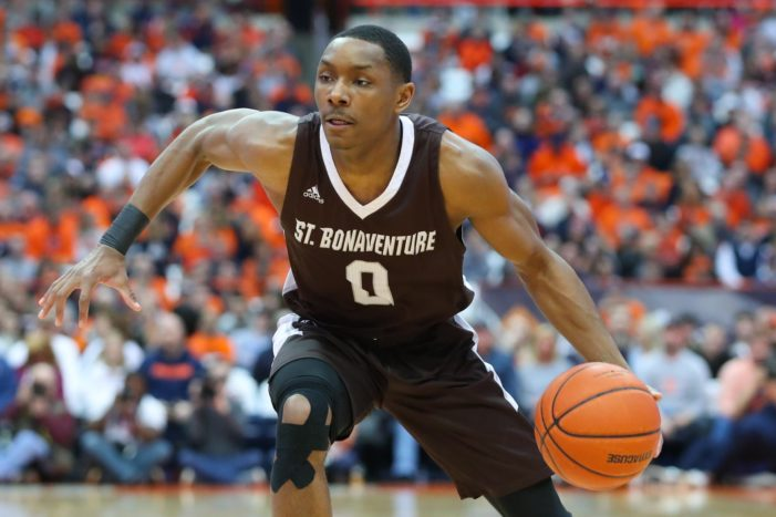 St. Bonaventure's Kyle Lofton named A-10 Rookie of the Week