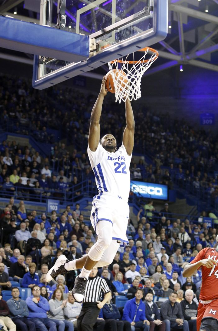 UB wins 19th straight at home with 88-64 victory over Miami (OH)
