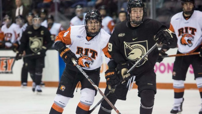 The little guys come up big as RIT rallies past Army