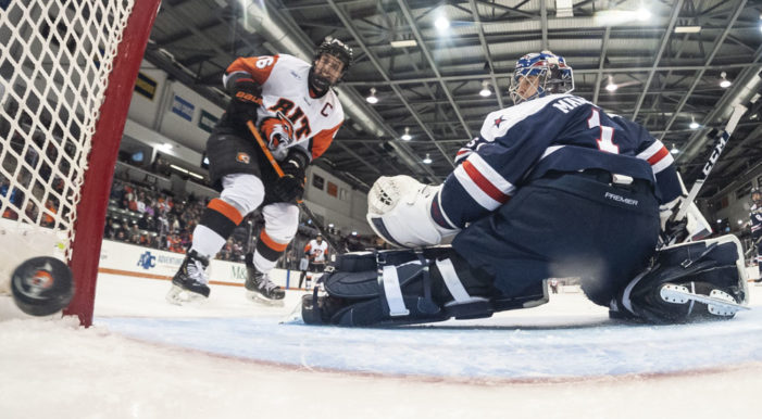RIT hockey hopes Brown is heating up just at the right time