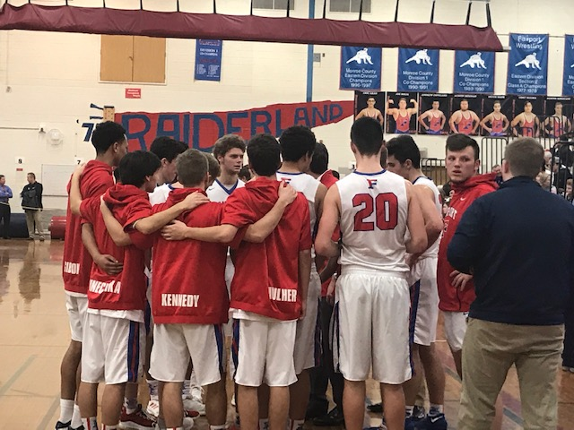 Fairport takes pressure in stride, headed to semis