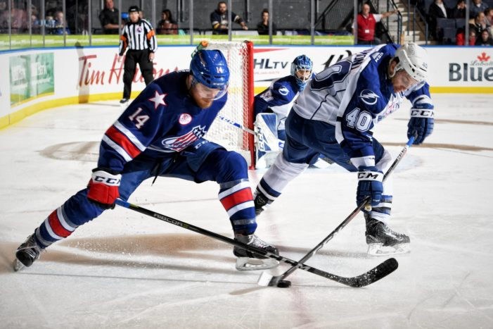 Too many penalties cost the Amerks dearly in loss to Crunch