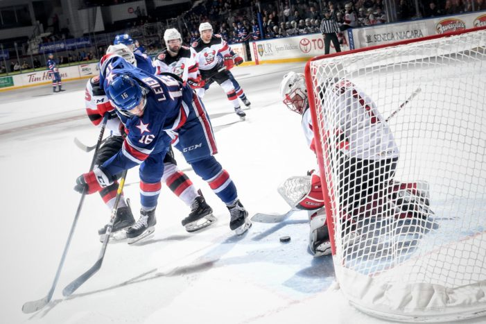 Confident Amerks complete weekend sweep