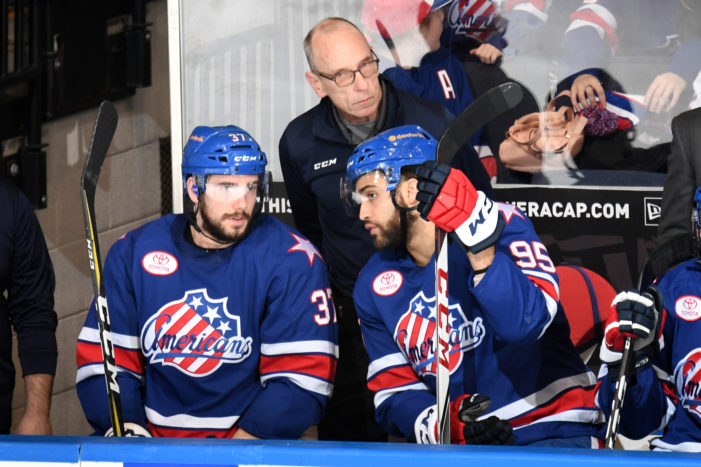 Amerks honor Weisbeck for working 2,500th game as athletic trainer