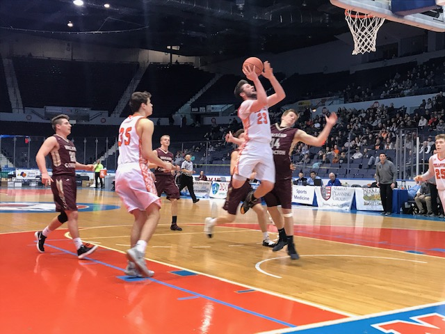 Wellsville's defense, big second half lead to B2 title
