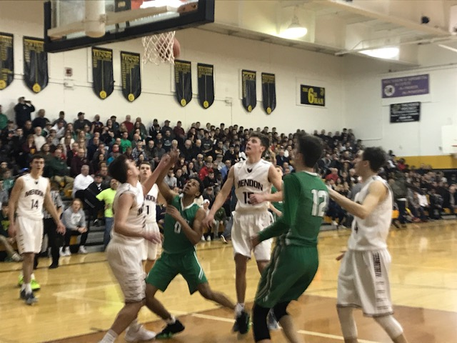 Pittsford Mendon leaves no doubt, romps into state semifinals