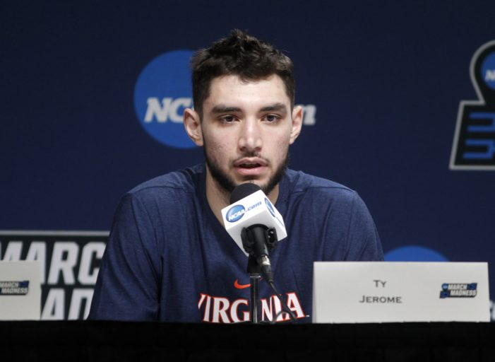 Virginia's Jerome brings his NYC roots to NCAA Tournament