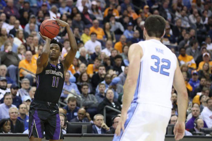 Washington falls to top-seeded North Carolina; BK's Carter scores 10