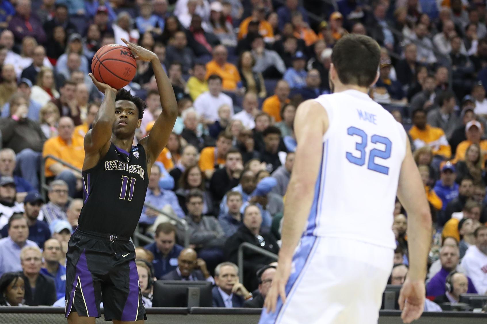 Washington falls to top-seeded North Carolina; BK's Carter ...