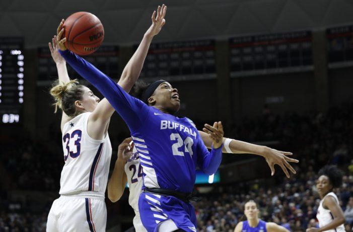 Comeback falls short; UB women lose to UConn