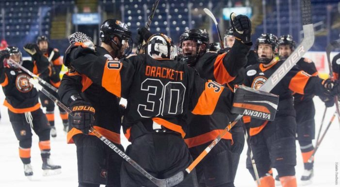 Hamacher scores twice to lead RIT to game three win over Sacred Heart