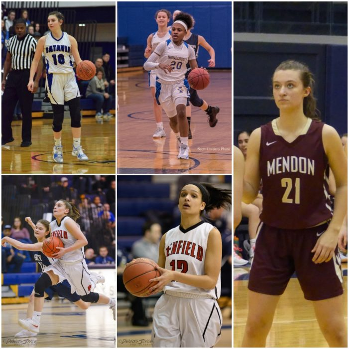 Teal, Moxley, Paige, Fursman, and Stefaniak grab Monroe County's top honors