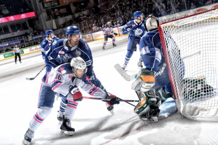 Crunch thump Amerks as rivalry intensifies