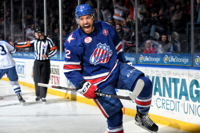 Amerks Redmond named AHL's best D-man, but he's focused on playoffs