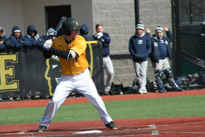 Clark pitches Tribunes to sweep of Erie CC