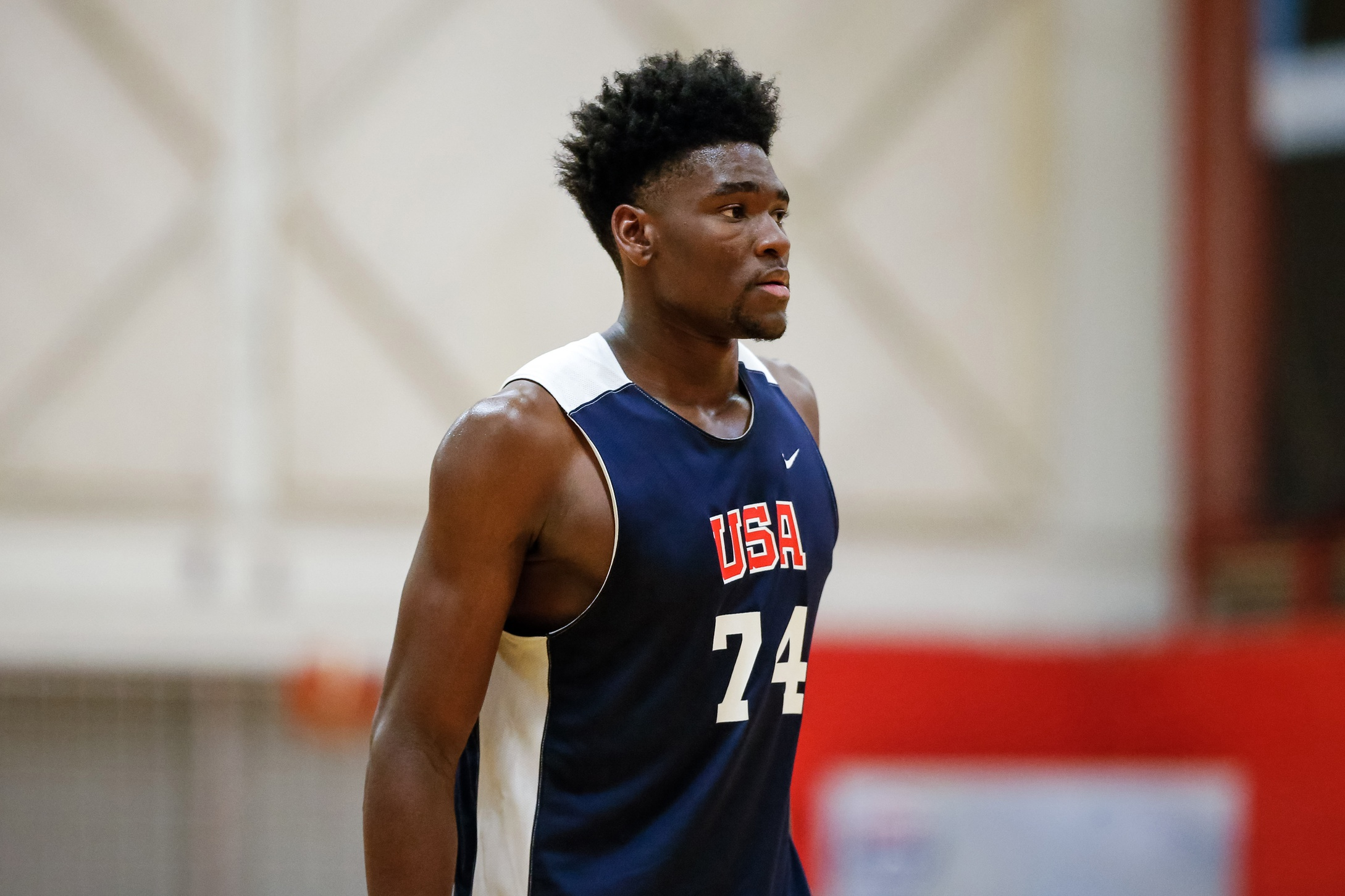 3b971f6dfc0c ... Isaiah Stewart is one of 12 players on the roster of the 2019 USA  Basketball Junior National Select Team. (Photo  Isaiah J. Downing-USA TODAY  Sports)
