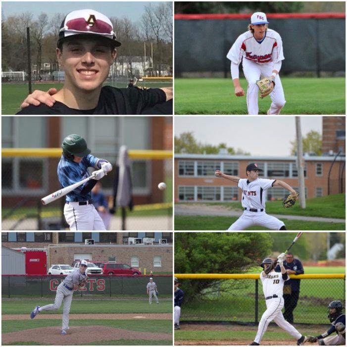 Olinski, Willard, Colucci, Bonacci, Tripi, and Calenzo share Monroe County Player of the Week honors