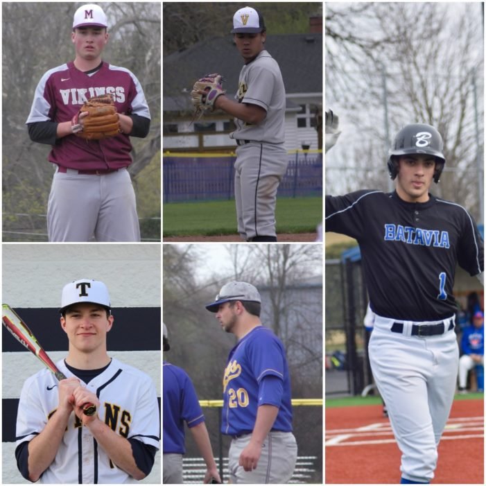 Monroe County names Rosso, Mulcahy, Serce, Bockmier, and Sallome as the Players of the Week