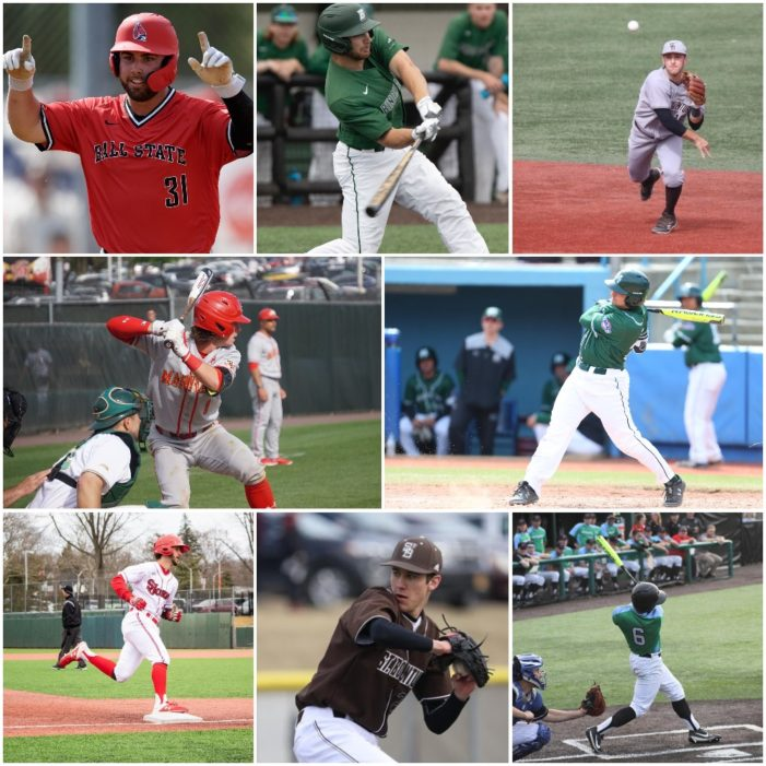 A rundown of Section V alumni in Division I baseball in 2019