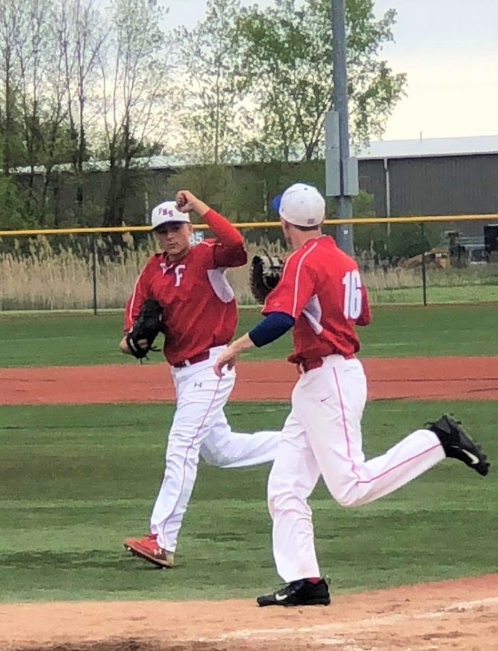 Anthony Roides leads Fairport to 6-1 sectional opener win against Schroeder
