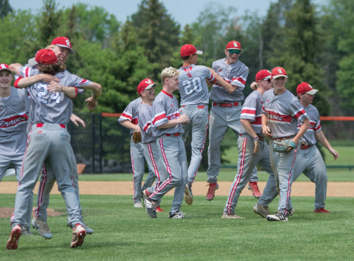 Sculli, Canandaigua blank Athena for the sectional four-peat