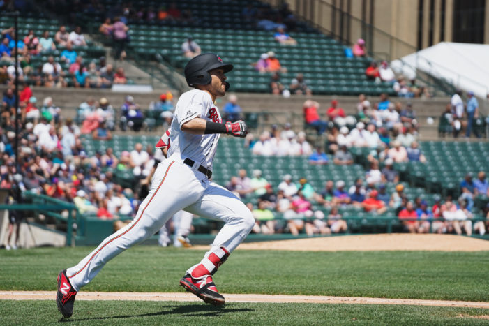 Wings score twice in ninth, win fourth straight