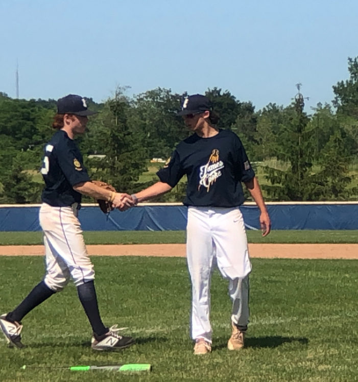 Jake Chittenden's 2-hitter helps James Cooke sweep doubleheader in 1-0 win