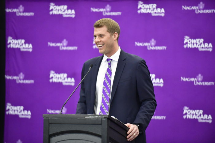 Niagara's Beilein searching for Purple Eagles identity