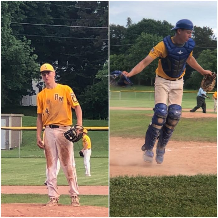 Former HF-L battery of Smith, VanNewkirk guide Rayson Miller to shutout win