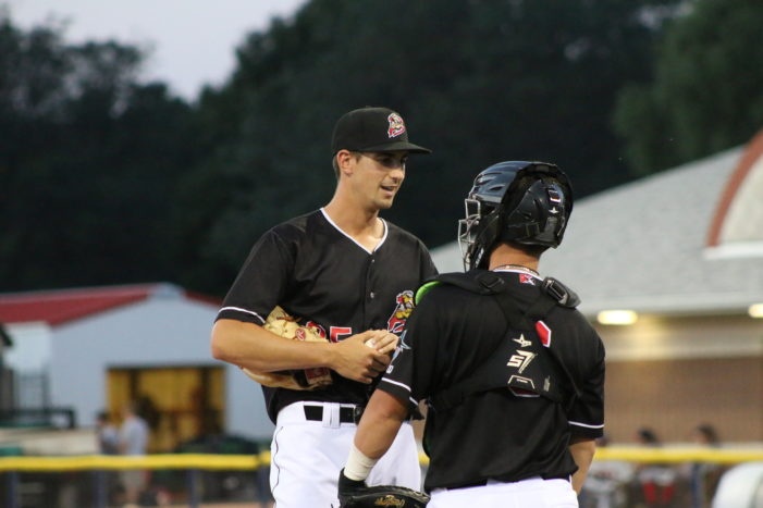 Muckdogs remain in first with 5-4 win before another solid crowd