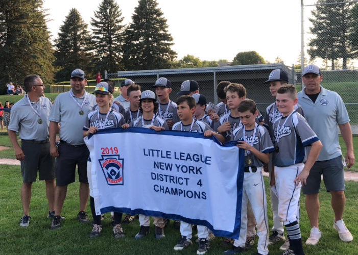 Webster Little League advances to regionals on Kelly's walk-off slam