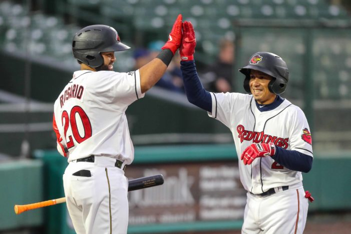 Wings split with IronPigs