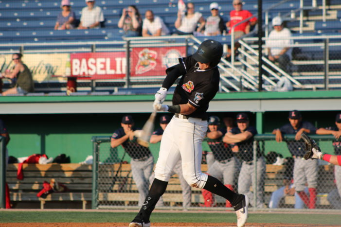 Reynolds blasts two home runs in Muckdogs win