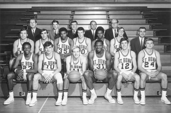 1970 St. Bonaventure Final Four Team To Be Honored in Anniversary Celebration Dec. 7